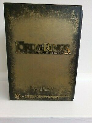 LORD OF THE RINGS The Motion Picture Trilogy Special Extended Edition