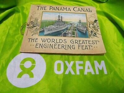 The Panama Canal The World's Greatest Engineering Feat + Red Cross book and note