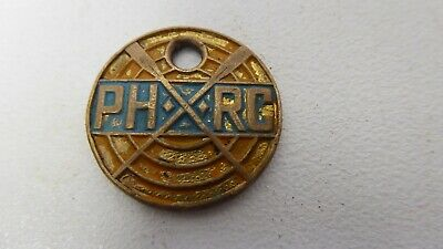Vintage Power House Rowing Club Members Badge Medal