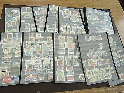 NEW ZEALAND - EXTENSIVE STOCK OF 300+ FINE USED SETS - ON 38 x STOCKSHEETS