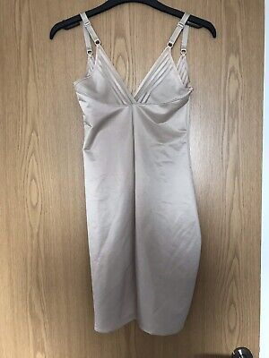 Ex-Marks /& Spencer T335909A M/&S Collection Secret Slimming/™ Medium Control Almond Beige Full Slip A-E RRP /£29.50