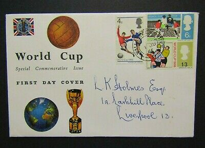 GB First Day Cover- World Cup Special Commemorative Issue  01/06/1966 Wallasey