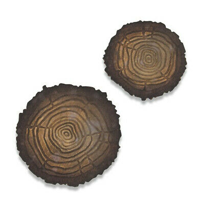 Sizzix Tim Holtz Bigz / Texture Fades Tree Rings Mini - PRE-ORDER (October 2019)