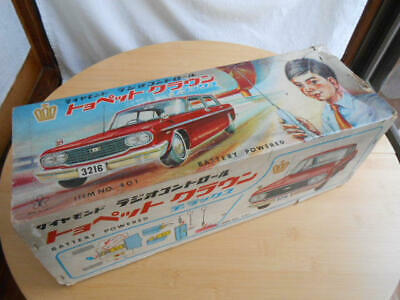 Yonezawa Toyopet Crown Tin Toy  Large very rare vintage japanese old toy