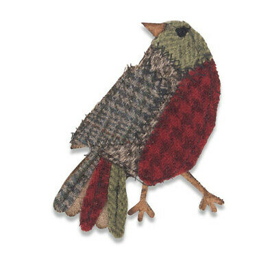 Sizzix Tim Holtz Bigz Die - Patchwork Bird - 664321 - PRE-ORDER (October 2019)