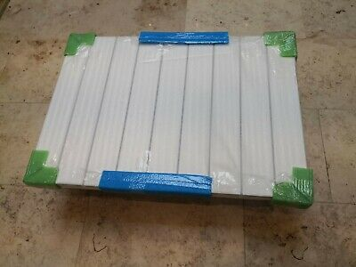 Eastbrook Rosano Aluminium radiator towel rail 600x850 86.0016 white