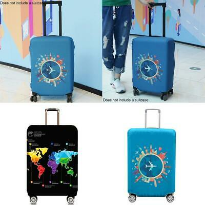 Polyester Protective Luggage Suitcase Dust Cover Protector Elastic Anti Scratch