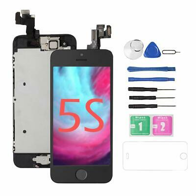 Screen For Iphone 5S [Black],Drscreen Glass Lcd Touch Screen Digitizer  Full As