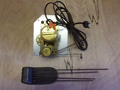 Electric Clock Movement with Synchron Moter, Chime Rods and Hands Parts
