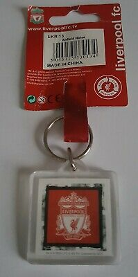 Liverpool Fc - Keyring # Crest + Anfield Noise # New + Official