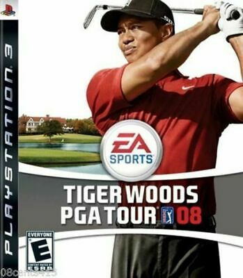 Tiger Woods PGA Tour 08 (Sony PlayStation 3, PS3, 2007) *COMPLETE*
