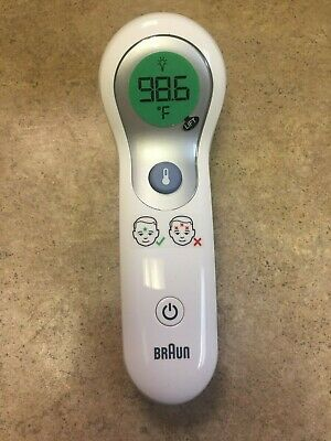 Braun No Touch Forehead Thermometer NTF3000 106C NEW