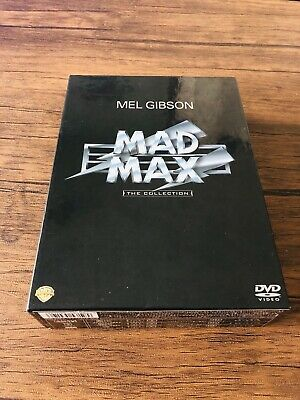 MAD MAX( The Collection) Mel Gibson Japanese DVD Set Rare Oop Region [2]