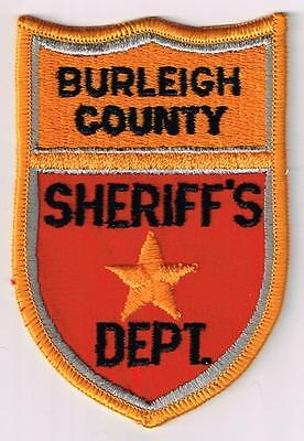 Burleigh County Sheriff's Dept., North Dakota - old style patch