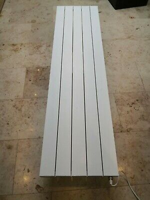 Eastbrook Rosano 1800x470 86.0007 aluminium radiator towel rail white