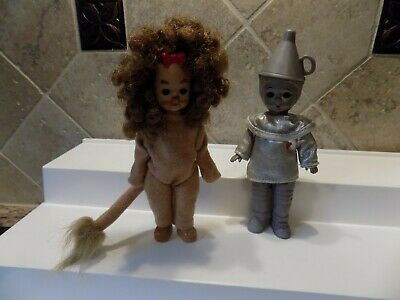 McDonald's Madame Alexander Wizard of Oz Figures, Tin Man  & Cowardly Lion