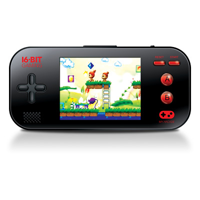 My Arcade Official Gamer Max Portable Handheld Retro 220 Video Games Included