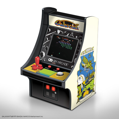 My Arcade Official GALAXIAN Micro Player Handheld Retro Video Game Collectible