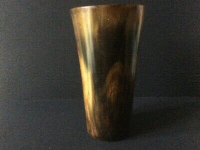Antique Horn Beaker.