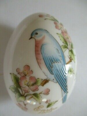 Vintage Noritake Bone China Collectable Egg - 1979 Easter - 9th Edition