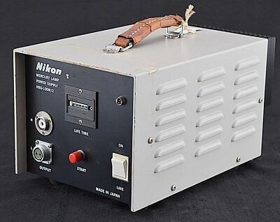Nikon HBO-100W/2 Lab Microscope Light Illuminator Mercury Lamp Power Supply