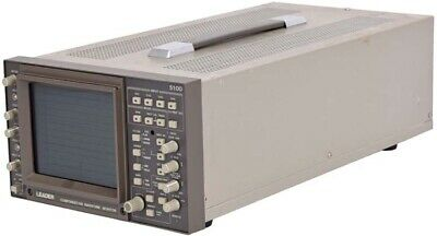 Leader 5100 Portable Benchtop 4-Channel Component/HD Waveform Monitor