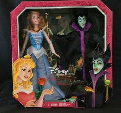 2013 Disney Signature Collection Sleeping Beauty and Maleficent Collector Series