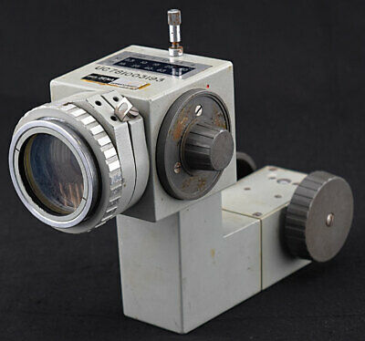 Aus Jena Lab Cycloptic Stereo Microscope 10/25X Magnification Changer Dial Frame