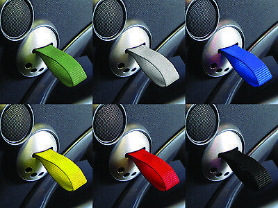 Rennline RS Style Door Pulls MINI One Cooper S R50 R52 R53 - BLACK / YELLOW