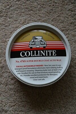 Collinite No.476S Super Double Coat Auto Wax, UK Seller