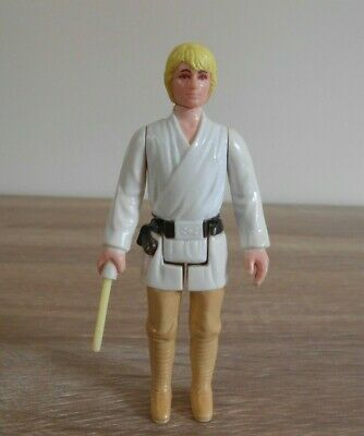 Vintage Star Wars Luke Skywalker Farm Boy Kenner 1977 First 12