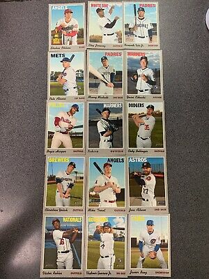 2019 Topps Heritage High Number Cloth Sticker Set 15 Cards Alonso Tatis Guerrero
