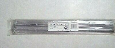 WHEELSMITH SS14 2.0 X 288MM SILVER BICYCLE SPOKES--PACK OF 50