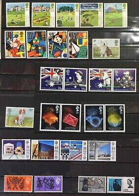 Great Britain - Lot Of Eight Complete Sets. Mint Never Hinged.