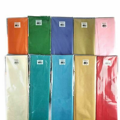200x Assorted Premium Large Tissue Paper Sheets - Wholesale Mixed Craft Gift