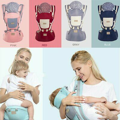 9in1 Ergonomic Baby Carrier W/ Hip Seat Stool Adjustable Wrap Sling Backpack New