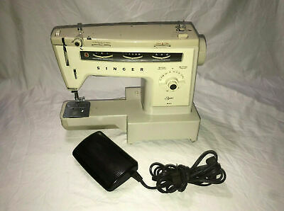 Vintage Singer Stylist 534 Sewing Machine With Foot Pedal
