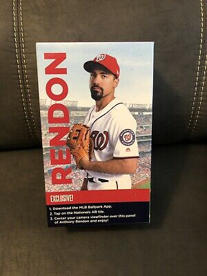 Official Anthony Rendon Bobblehead 2019 Tony Two Bags