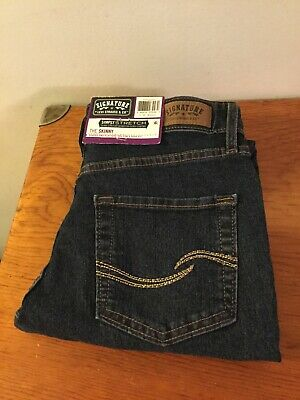 Signature by Levi Strauss The Skinny Blue Jeans Misses Size 4 Medium
