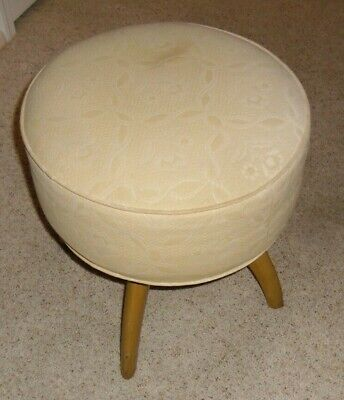 Heywood-Wakefield Mid Century swivel stool from the Trophy Collection