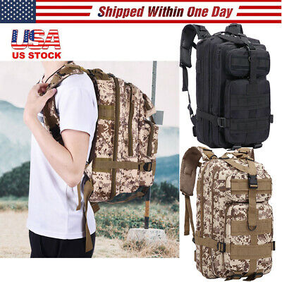 30L Molle Outdoor Sport Military Tactical Bag Camping Hiking Trekking Backpack