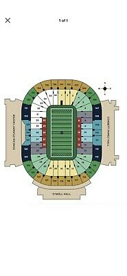 Notre dame Vs Boston College Nov 23 - 2 Tickets Sect 22 Row 38