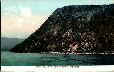 1906. Anthony's Nose, Hudson River, Highlands Ny Postcard Zt14
