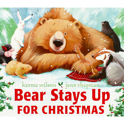 Bear Stays Up For Christmas by Karma Wilson (Paperback), Children's Books, New
