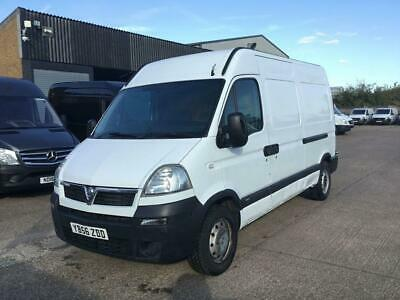 2007 56 Vauxhall Movano 2.5Cdti 3500 Mwb High Roof 100Bhp. Px To Clear. Bargain.
