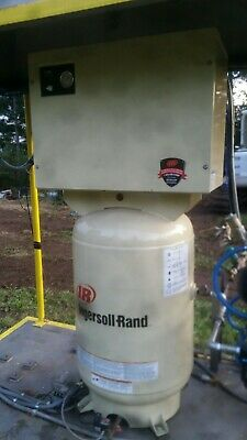 Ingersoll rand Air Compressor 5hp 17cfm @ 175psi Up6rm-5-175 3 Phase 68 gallon