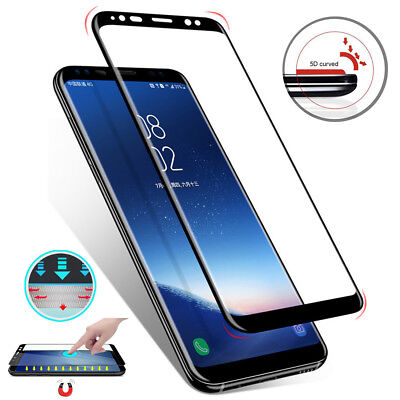 For Samsung Galaxy A7 A8 A6 2018 Full Cover Tempered Glass Screen Protector Film