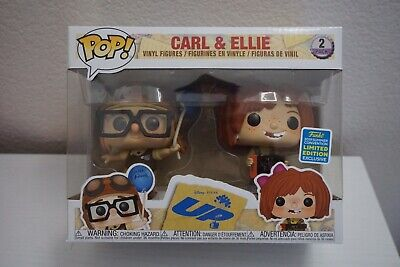 Funko Pop! Young Carl and Ellie 2 Pack Disney Pixar Up SDCC 2019 Exclusive