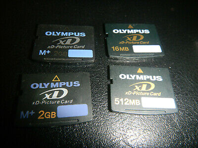 Olympus XD picture card x 4