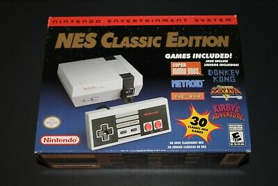 Authentic Nintendo Classic Edition NES Mini Game Console USA New  Lower Serial #